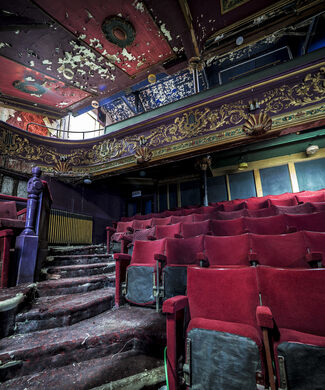 Abandoned since 1988, this Art Deco theatre in England set the stage for performances by the Beatles and Nina Simone. (2017)