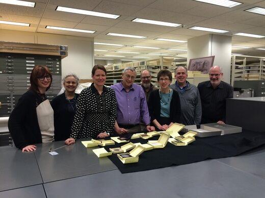 Robert Cornelius Daguerreotype Project team members.