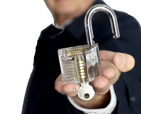 A practice lock.