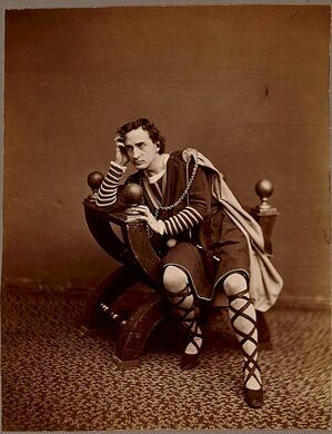 The founder of the Players, Edwin Booth.