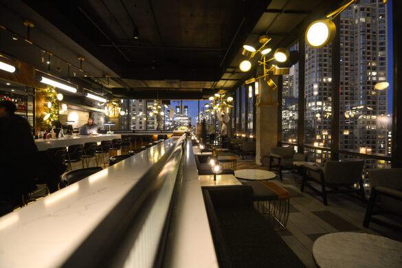 Apogee Rooftop Bar.