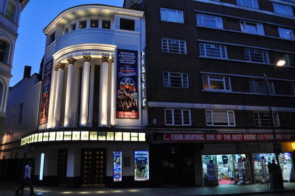 The 1930s Phoenix Theatre was originally built for films.