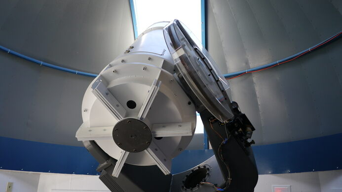 24-inch telescope at Little Thompson Observatory.