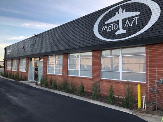 MotoArt facade.