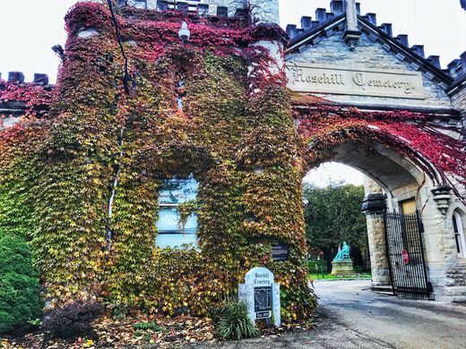 The historic gates by Willian Boyington