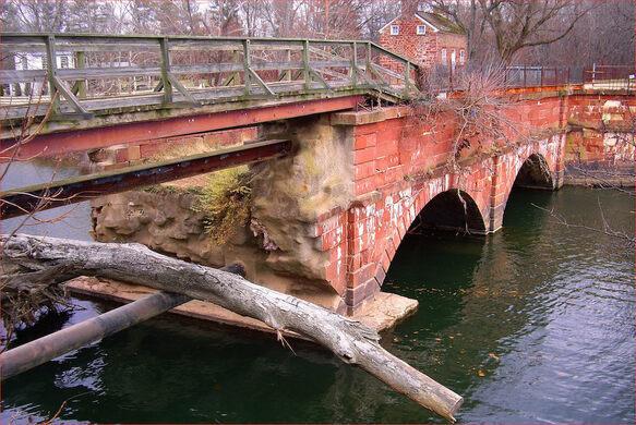 Seneca Aqueduct on the C&O Canal.