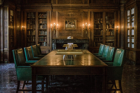 The library awaits you.