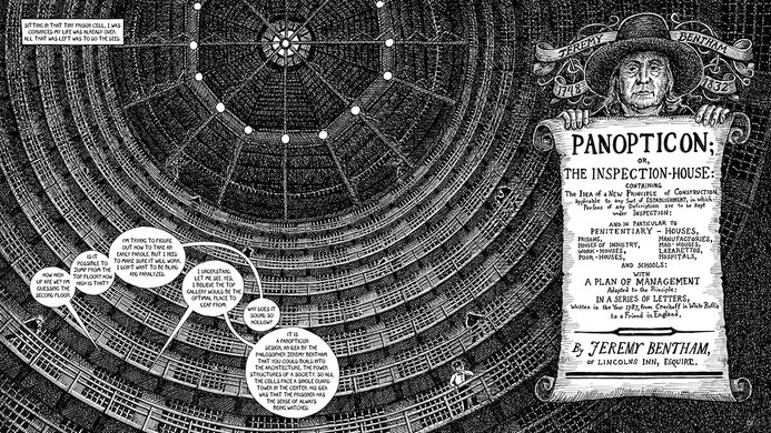 Panopticon and Stateville Prison.