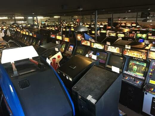 The largest arcade in the nation.