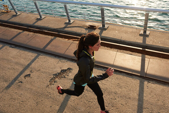 Join us for a lakeside run with GORE-TEX gear.