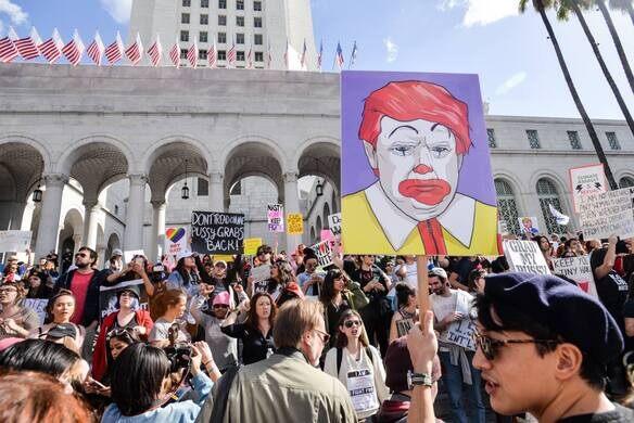 """Not my president"" Rally"