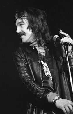 Captain Beefheart in performance.