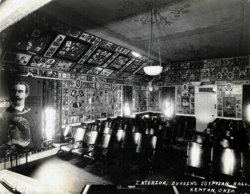 Egyptian Hall theatre, Kenton, Ohio.
