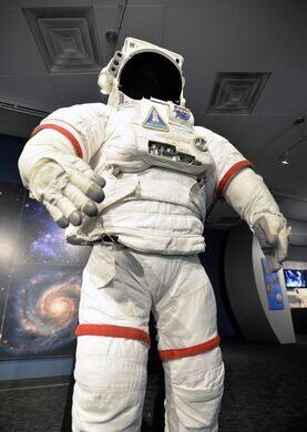 Astronaut suit.