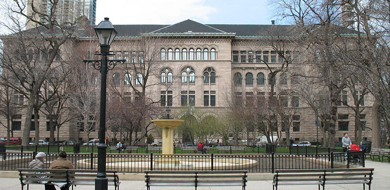 The Newberry Library building.