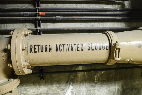 RETURN ACTIVATED SLUDGE.