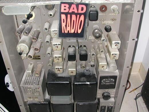 WBAD tube transmitter.