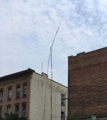 A pirate radio antenna.