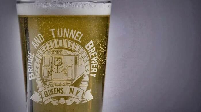 Enjoy a guided tasting from Bridge And Tunnel Brewery.