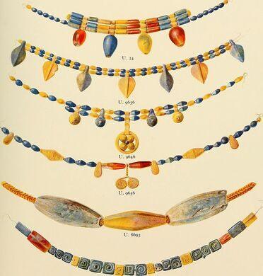 Beads, Ur Excavations.