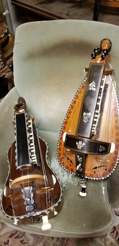Part of the hurdy gurdy collection.