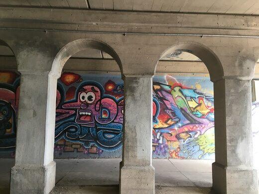 Graffiti Garden St. Louis Viaduct
