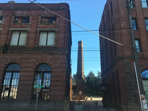 The historical Rainier Brewery.