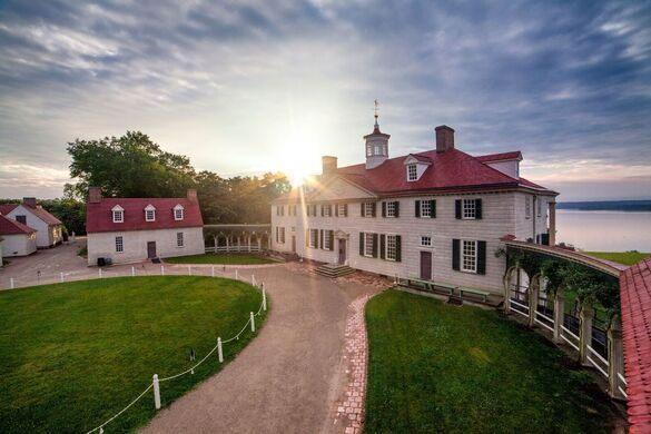 George Washington's mansion.