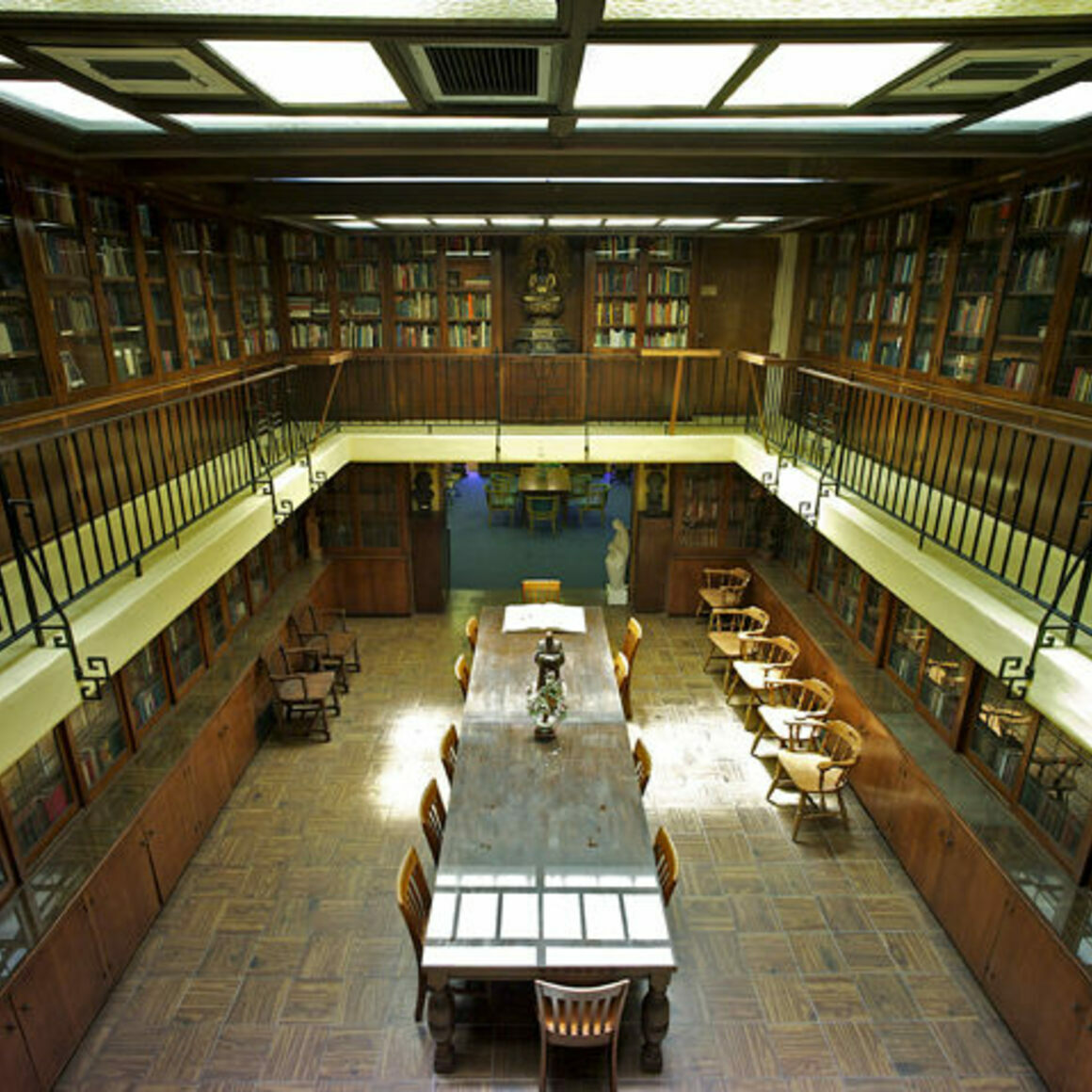 The Library at PRS.