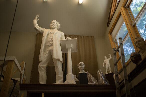 Frederick Douglass looking regal.