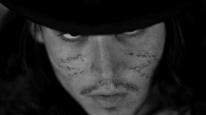 "Johnny Depp as ""William Blake"" in Dead Man."