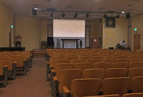 Philosophical Research Society Auditorium.