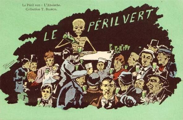 Le Péril Vert: L'Absinthe.