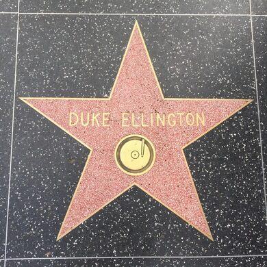Duke Ellington's Star on Walk of Fame.