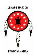 The logo of the Lenape Nation of Pennsylvania.