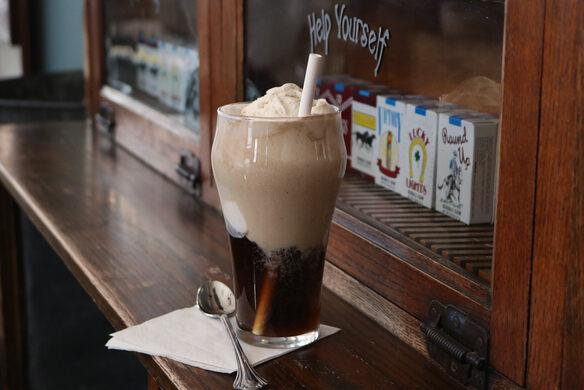 Vanilla Coke Ice Cream Float.