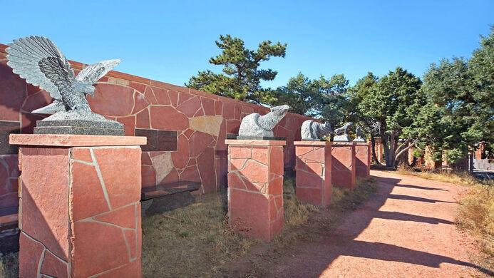 Wall at Mt. Lindo.