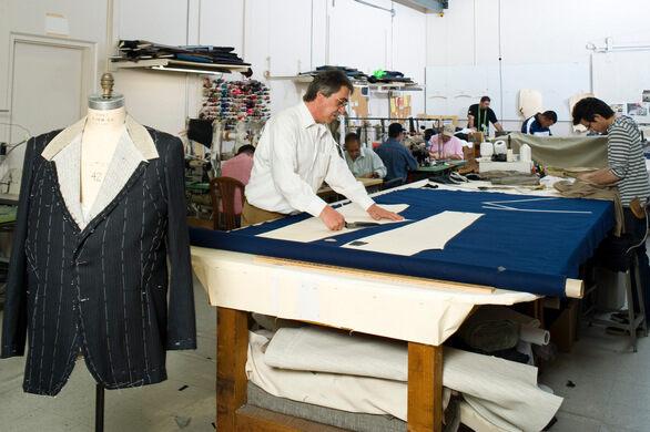 The Garment Design shop.