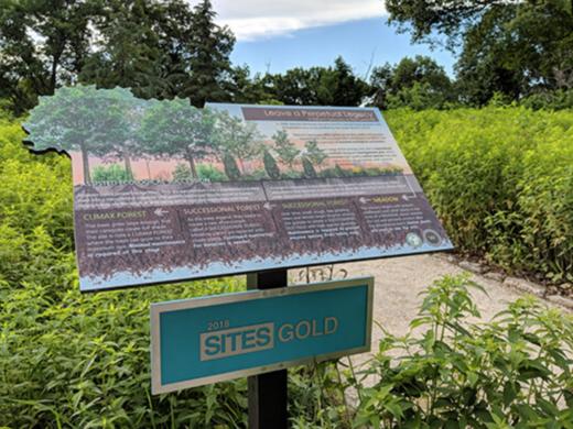 West Laurel Hill Cemetery's Nature's Sanctuary.