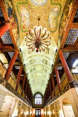 Main Corridor of mausoleum.