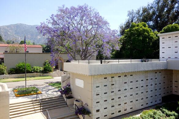 Courtyard around the mausoleum.