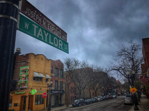 Taylor Street is packed with strange history.