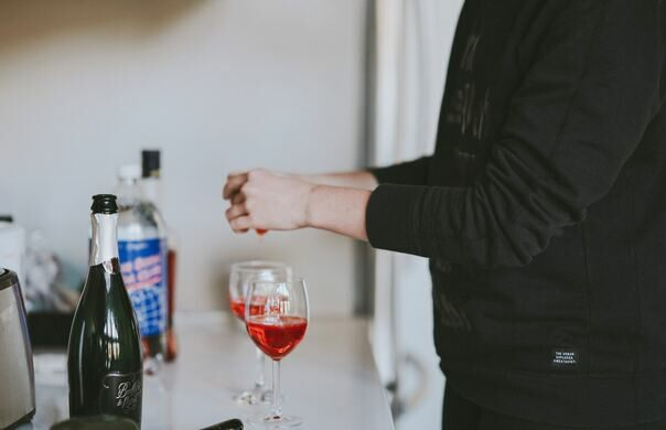 Poisons are commonly concealed in alcohol beverages.