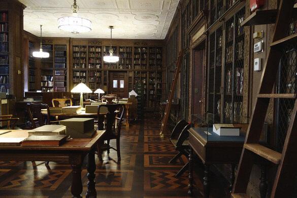 NYAM's Rare Book Room.