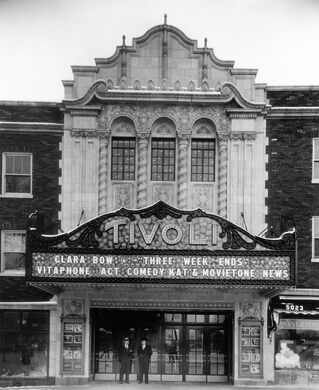 The Tivoli Theatre, 1928.