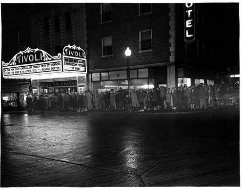 The Tivoli Theatre, 1953.