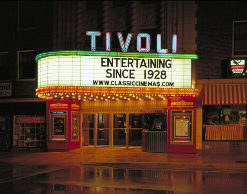 The Tivoli Theatre.