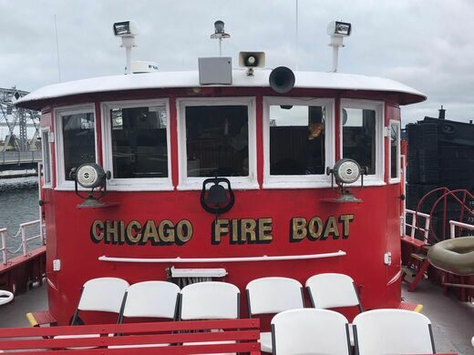 Chicago Fire Boat.