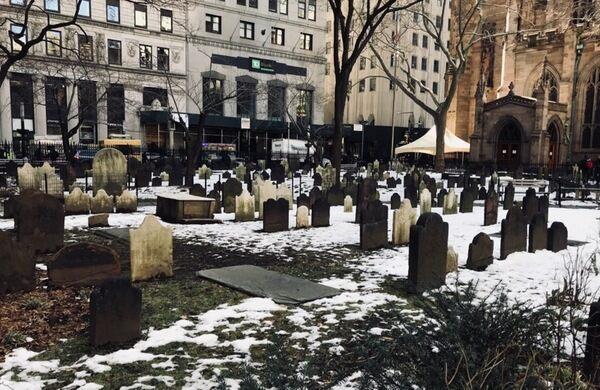Financial District Graveyard.