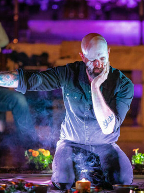 Janaka Stucky performs Ascend Ascend in New York.